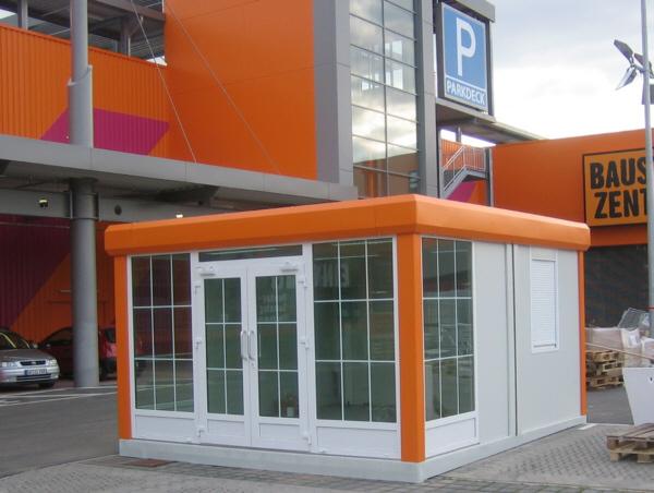 Imbisscontainer Pavillon Austellungscontainer Kiosk