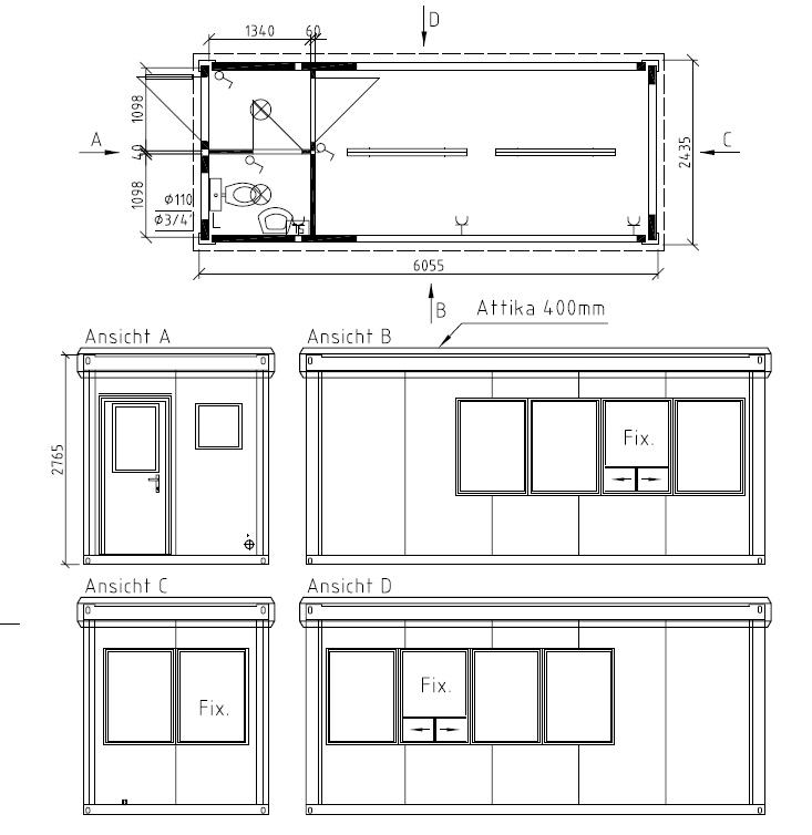 pf rtnerhaus kassenh uschen pf rtnercontainer kassencontainer von schmidt container. Black Bedroom Furniture Sets. Home Design Ideas